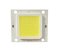 abordables -1pc 5pcs haute puissance réel 20w 30w 50w LED cob lampe puce blanc chaud naturellement blanc et blanc pour bricolage projecteur de lumière DC30-34V