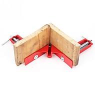 economico -Attrezzo manuale per la lavorazione del legno della pinza angolare ad angolo retto di 90 gradi in lega di alluminio con clip da 2 pezzi per cornice
