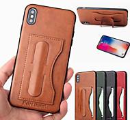 economico -telefono Custodia Per Apple Per retro Custodia in pelle iPhone 12 Pro Max 11 SE 2020 X XR XS Max 8 7 6 iPhone 11 Pro Max SE 2020 X XR XS Max 8 7 6 Porta-carte di credito Con supporto Tinta unica