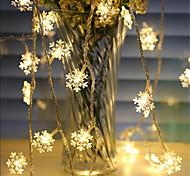 economico -1.5m Fili luminosi 10 LED 1 set Bianco caldo Colori primari Bianco Creativo Feste Decorativo Batterie AA alimentate