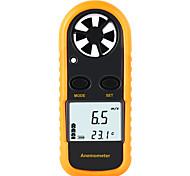 abordables -instruments de mesure de la vitesse rz anémomètre lcd capteur numérique de la vitesse du vent capteur portable 0-30m / s gm816 anémomètre