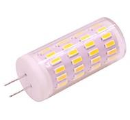 abordables -1pc 4w g4 gu4 led lumières de maïs dimmable 12v 24v 400lm 63 led perles smd 3020 blanc chaud blanc pour la maison éclairage table lumière pendentif lumière