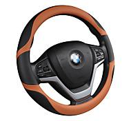 economico -Copristerzo per auto vera pelle / Pelle / Similpelle 38 cm Nero / Blu / Nero - rosso / Nero - arancione Per Universali Motori generali Tutti gli anni