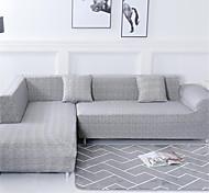 abordables -housse de canapé housse de canapé extensible housse de protection de meubles housse souple antidérapante adaptée pour fauteuil / causeuse / trois places / quatre places / canapé en forme de l