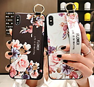 economico -telefono Custodia Per Apple Per retro Silicone iPhone 12 Pro Max 11 SE 2020 X XR XS Max 8 7 6 iPhone 11 Pro Max SE 2020 X XR XS Max 8 7 6 Con supporto Fantasia / disegno Floreale Morbido Silicone