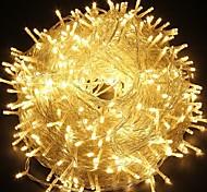 abordables -30m Guirlandes Lumineuses 300 LED LED Dip 1pc Blanc Chaud Blanc Bleu Soirée Décorative Adorable 220-240 V / IP44