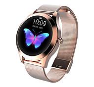 abordables -KW10 Smartwatch Montre Connectée pour Android iOS Samsung Apple Xiaomi Bluetooth 1.04 pouce Taille de l'écran IP68 Niveau imperméable Imperméable Ecran Tactile GPS Moniteur de Fréquence Cardiaque