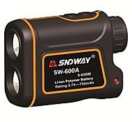 abordables -sndway 600m sw-600a mètre monoculaire télémètre laser télémètre de chasse télescope trena télémètre laser mesurer en plein air