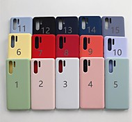 economico -telefono Custodia Per Huawei Per retro Huawei P20 Huawei P20 Pro Huawei P20 lite Huawei P30 Huawei P30 Pro Huawei P30 Lite Effetto ghiaccio Tinta unica Morbido TPU