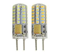 abordables -2pcs gy6.35 mr16 led lumières 12v dc / ac 260lm 48 led smd 3014 blanc chaud blanc pour rv marine armoire lumières lumières décoratives