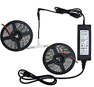 economico -ZDM® 10m Set luci 600 LED SMD5050 10mm 1 adattatore 12V 6A 1 cavo CA. 1 set Bianco caldo Luce fredda Rosso Accorciabile Nuovo design Decorativo 12 V / Auto-adesivo
