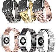 economico -Cinturino intelligente per Apple  iWatch 1 pcs Cinturino sportivo Chiusura classica Acciaio inossidabile Sostituzione Custodia con cinturino a strappo per Apple Watch Serie SE / 6/5/4/3/2/1 38 / #