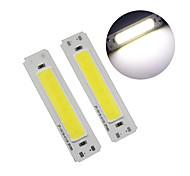abordables -60 * 15mm led 5v puce cob 2w cob led bande lumière source bar lampe diy lampe de table usb led panneau 5v