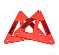 economico -triangolo rosso di emergenza riflettente combinato portatile di emergenza auto auto