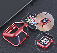 abordables -étui de protection pour apple apple series 4/3/2/1 / cadre en métal à adsorption magnétique étui de protection pour apple watch series 4 metal apple