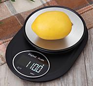 economico -5kg / 5g bilancia da cucina elettronica strumenti di misura di precisione bilancia grammo digitale cottura cibo vetro display lcd cx311-a5