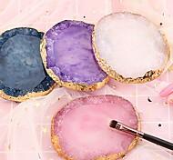 economico -resina agata colore delle unghie palette tavolozza di disegno nail art palette colori per unghie colore miscelazione visualizzazione strumenti di arte del chiodo