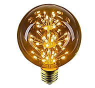 abordables -1pc 2.5 W 100 lm E26 / E27 Ampoules Globe LED 49 Perles LED LED Dip Décorative Jaune 220-240 V / 1 pièce / RoHs
