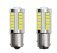 economico -2 pz 1156 ba15s 1157 bay15d auto ha condotto le lampadine 4 w 12 v smd 5730 33 led indicatori di direzione luci luci di coda luci dei freni luci stop