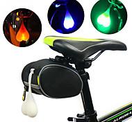 abordables -LED Eclairage de Velo Eclairage de Vélo Arrière Eclairage sécurité / feu clignotant velo VTT Vélo tout terrain Vélo Cyclisme Imperméable Portable Avertissement Durable 3000 lm RVB Rouge Bleu Camping