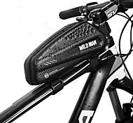 economico -1 L Marsupio triangolare da telaio bici Ompermeabile Portatile Zip impermeabile Borsa da bici pelle sintetica EVA Marsupio da bici Borsa da bici Ciclismo Bicicletta