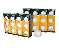 abordables -Balle de Golf 1 pièce Professionnel Durable Caoutchouc Pour Golf Extérieur Intermédiaire