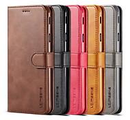 economico -telefono Custodia Per Samsung Galaxy Integrale Custodia in pelle Porta carte di credito S9 S9 Plus S8 Plus S8 Bordo S7 S7 S6 edge plus Bordo S6 S6 A portafoglio Resistente agli urti A prova di sporco