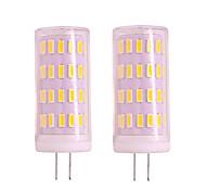 economico -2 pz 4 w g4 gu4 led luce di mais dimmerabile 12 v 24 v 400lm 63 led smd 3020 bianco bianco caldo per lampade a sospensione luci portico luci lampadario