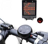 economico -Laser LED Luci bici Luce indicatore di direzione Luce posteriore per bici luci di sicurezza LED Ciclismo da montagna Bicicletta Ciclismo Impermeabile Modalità multiple Super luminoso Telecomando 100