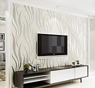 abordables -Imprimer la décoration de la maison revêtement mural moderne, adhésif matériel non tissé requis papier peint, revêtement mural de la pièce 1000 * 53cm