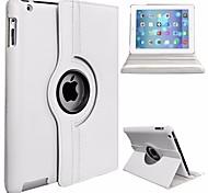 economico -telefono Custodia Per Apple Integrale iPad (2017) iPad Pro 9.7 '' Rotazione a 360° A prova di sporco Con supporto Tinta unita Resistente pelle sintetica PC