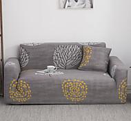 abordables -Housse de canapé extensible de couleur fleur anti-poussière Housse de canapé extensible Housse de canapé en tissu super doux (vous obtiendrez 1 taie d'oreiller comme cadeau gratuit)