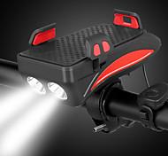 economico -LED Luci bici LED Luce frontale per bici Ciclismo da montagna Bicicletta Ciclismo Litio-polimero Impermeabile Super luminoso Sicurezza Portatile Batteria ricaricabile 400 lm Campeggio / Escursionismo