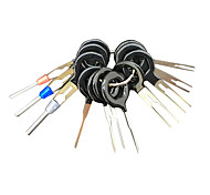 economico -11pcs / set strumenti di rimozione del terminale kit di estrattori per pin connettore elettrico crimp