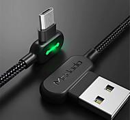 economico -Micro USB Cavi Intrecciato Carica rapida Trasmissione dati 1.8M (6 piedi) Nylon Per Samsung Xiaomi LG Appendini per cellulare