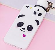economico -telefono Custodia Per Apple Per retro Custodia in silicone iPhone 12 Pro Max 11 SE 2020 X XR XS Max 8 7 6 Resistente agli urti A prova di sporco Resistente all'acqua Cartoni animati Panda Animali