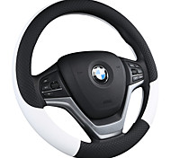 economico -Copristerzo per auto Pelle / Similpelle 38 cm Nero / Giallo / Nero - viola Per Universali Motori generali Tutti gli anni