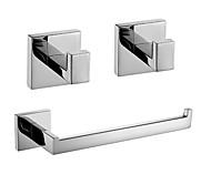 economico -Set di accessori per il bagno Nuovo design / Creativo Moderno / Divertente e stravagante Metallo 3 pezzi - Bagno Montaggio su parete