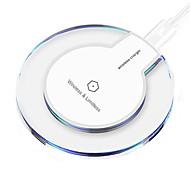 abordables -qi mini chargeur rapide sans fil de bureau chargeur de téléphone portable portable pad de charge sans fil usb pour samsung s21 s20 s10 une série oneplus 9 8 7 xiaomi huawei lg google