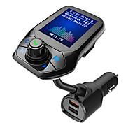 abordables -T43 Kit voiture Bluetooth Bluetooth / QC 3.0 / Enceintes Automatique