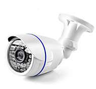 abordables -Détecteur de mouvement vidéo IR intérieur extérieur HD 1080p AHD avec vision jour / nuit IP65 Caméra de sécurité à angle de vision étanche à 168 ° avec AHD-DVR fonctionnant
