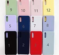 economico -telefono Custodia Per Huawei Per retro Huawei P20 Huawei P20 Pro Huawei P20 lite Huawei Mate 20 lite Effetto ghiaccio Tinta unica Morbido TPU