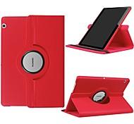 economico -telefono Custodia Per Huawei Integrale Huawei Mediapad T5 10 Huawei MediaPad T3 10 (AGS-W09, AGS-L09, AGS-L03) Rotazione a 360° Resistente agli urti Con supporto Tinta unita Resistente pelle sintetica