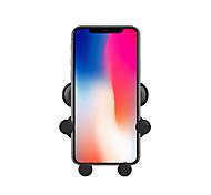 economico -Supporto per cellulare Auto Xiaomi MI Samsung Apple HUAWEI Griglia di uscita dell'aria Tipo di fibbia Tipo di gravità Tipo di presa Plastica dura Appendini per cellulare iPhone 12 11 Pro Xs Xs Max Xr