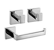 abordables -Ensemble d'accessoires de salle de bain Nouveau design / Créatif contemporain / Traditionnel Métal 3 pièces - Salle de Bain Montage mural