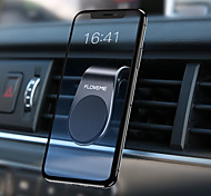 abordables -Accroche Support Téléphone Automatique Grille de sortie d'air Type magnétique ABS Accessoire de Téléphone