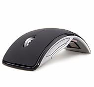 abordables -Vente chaude souris sans fil 2.4g souris d'ordinateur pliable pliant optique souris usb récepteur pour ordinateur portable pc bureau bureau