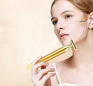 abordables -minceur visage 24 k or couleur beauté du visage barre de beauté bâton ascenseur peau serrant la barre de rides massage électrique