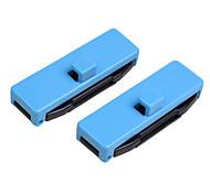 abordables -2 pcs réglables boucle de ceinture couvercle de protection anti-rayures clips de ceinture de sécurité bouchon de ceinture clips