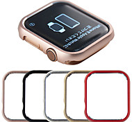 abordables -Coque Pour Apple Apple Watch Series 4 / Apple Watch Series 4/3/2/1 / Apple Watch Series 3 Métal Apple